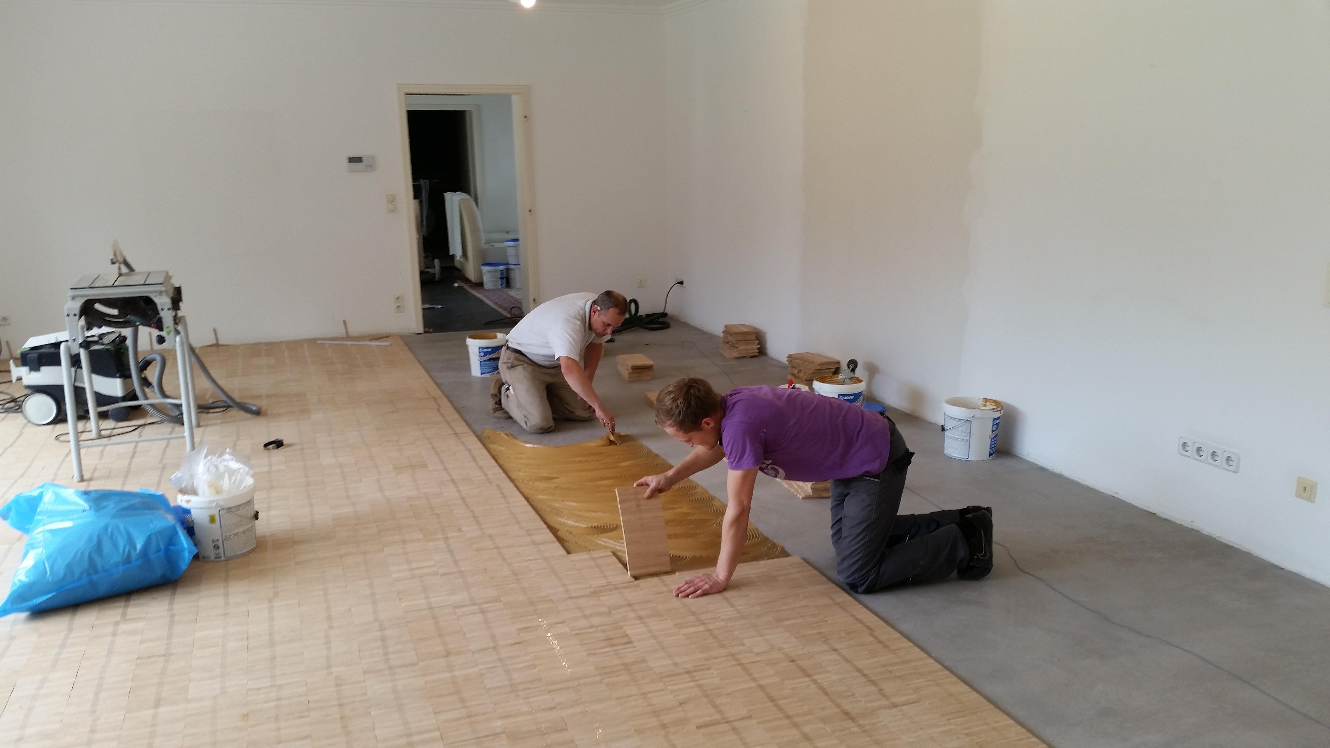 Unterbodenarbeiten